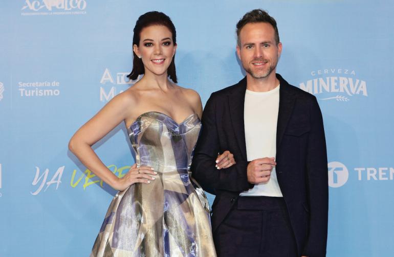 Fernanda Castillo y Erik Hayser serán papás. Foto: Archivo