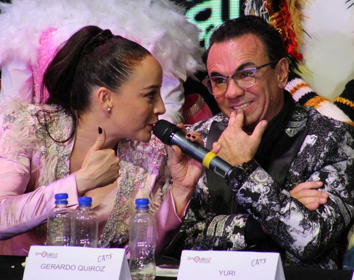 Natalia Sosa y Gerardo Quiroz.