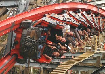 Falla montaña rusa en Six Flags México