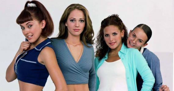 Así de sexys se veían Aracely Arámbula y Angélica Vale hace 20 años en Soñadoras