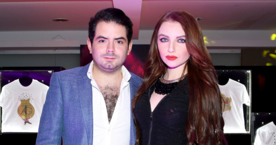 José Eduardo Derbez y su novia presentan a 'su hijo'