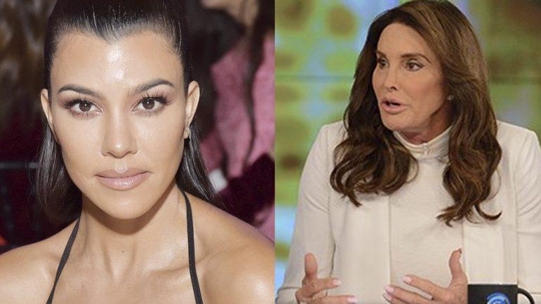 Kourtney Kardashian y Caitlyn Jenner se reconcilian