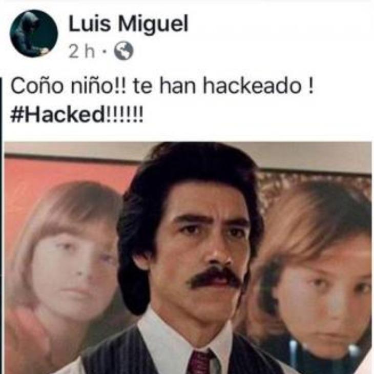 Hackean cuenta de Facebook de Luis Miguel