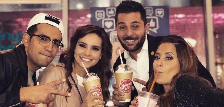 Tania Rincón se le va a los 'golpes' a compañero de Venga la Alegría