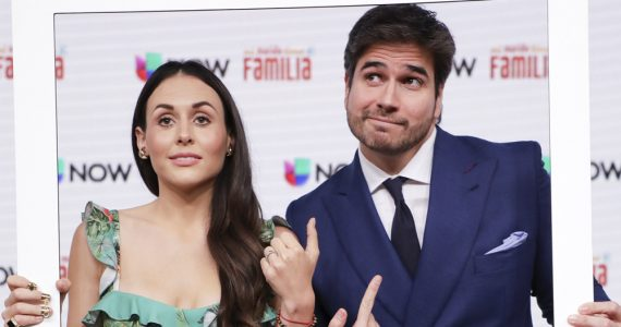 Zuria Vega y Daniel Arenas. Foto: Archivo