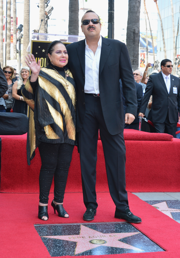Dan de alta a la actriz Flor Silvestre, madre de Pepe Aguilar