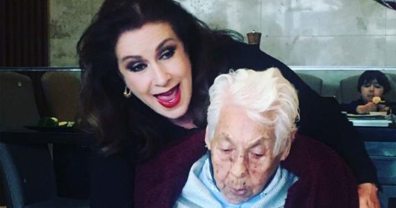 Laura Zapata confirma que Thalía no vino a México por el cumpleaños de su abuela