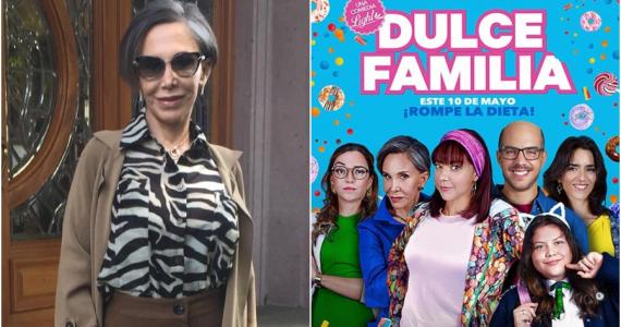 Florinda Meza nos da otro adelanto de Verónica Trujillos en la cinta Dulce Familia