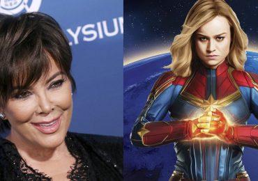 ¡Kris Jenner y la Capitana Marvel protagonizan el crossover del que todos están hablando!