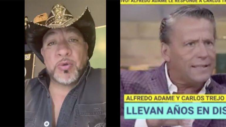 ¡Hay tiro! Alfredo Adame y Carlos Trejo se retan a golpes