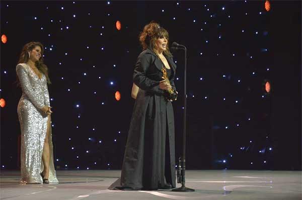 Verónica Castro, Premios TVyNovelas 2019. Foto: TVyNovelas