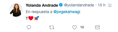 Famosos muestran su apoyo a Jorge Kahwagi
