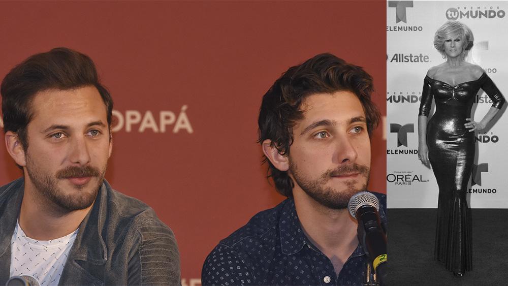 Sebastián y Emiliano Zurita cumplen sueño de su madre. Foto: Archivo