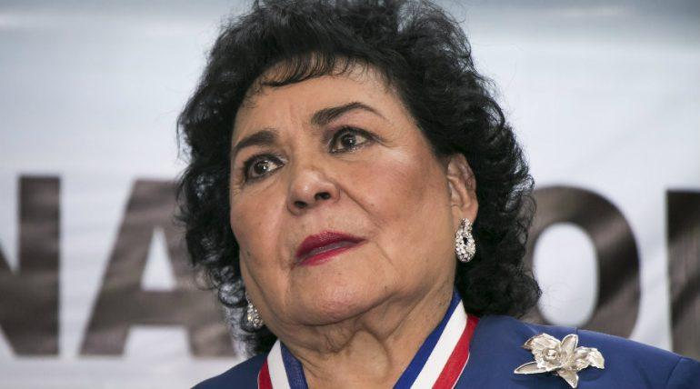Carmen Salinas arremete contra los incrédulos del Covid-19. Foto: Archivo