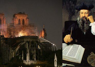 Michel Nostradamus predijo el incendio en Notre Dame
