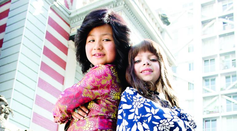 Veroniquita y Albertanito, de Pequeños Gigantes, se divirtieron en el Museo de Cera