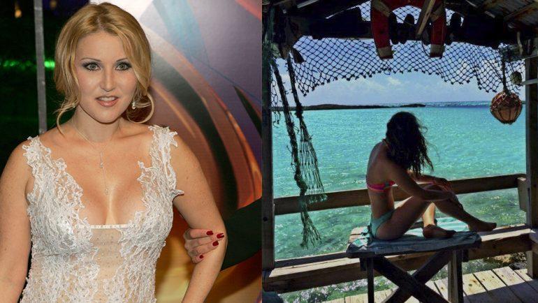 Hija de Alicia Villarreal luce cuerpazo en bikini