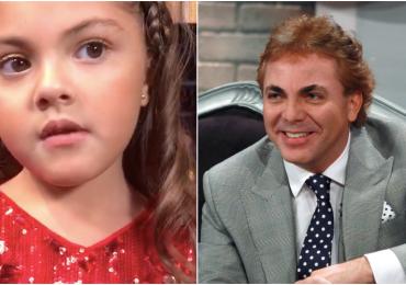 ¿Qué quiere ser Rafaela, la hija de Cristian Castro, cuando sea grande?