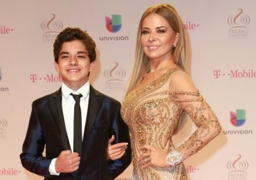 Gloria Trevi, Ángel Gabriel. Foto: The Grosby Group