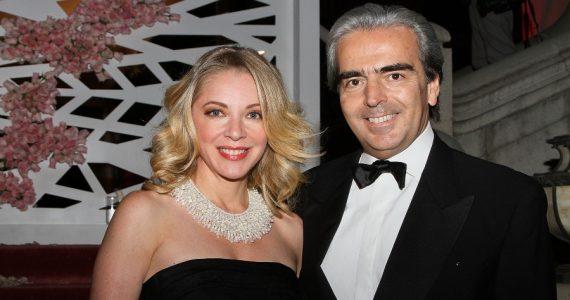 Edith González y Lorenzo Lazo. Foto: Getty Images