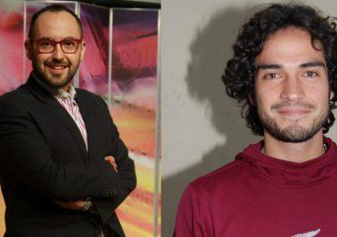 Mauricio Clark y Alfonso Herrera. Foto: Archivo Editorial Televisa