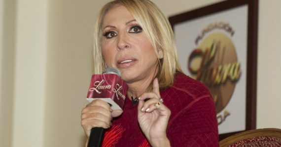 Laura Bozzo sin maquillaje. Foto: Getty Images