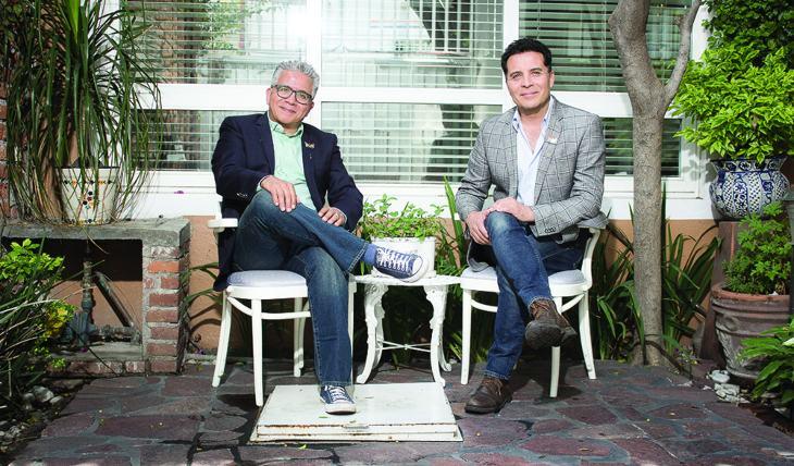 Felipe Nájera y Jaime Morales. Foto: Cortesía