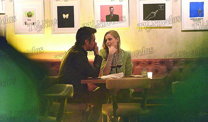 SE VE CONTENTA. Ambos disfrutaron de la velada, y a pesar de que no cenaron nada, la pasaron muy bien. Foto: CHKLAN/Arturo Gallegos