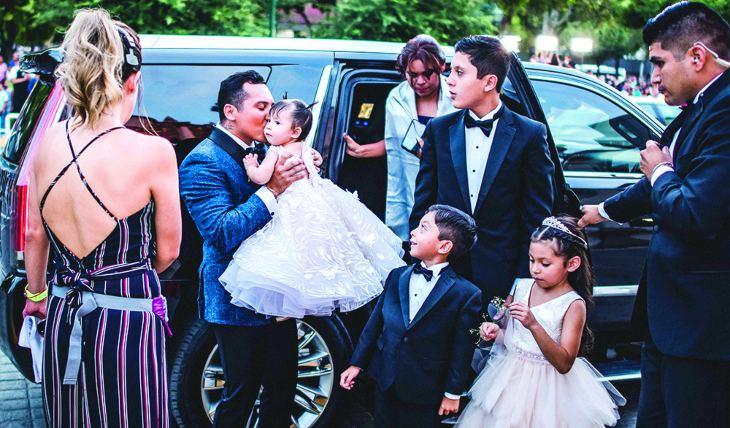 Boda Regia Edwin Luna Selló Su Amor Con Kimberly Flores