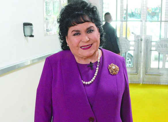 Carmen Salinas. Foto: Rubén Espinosa