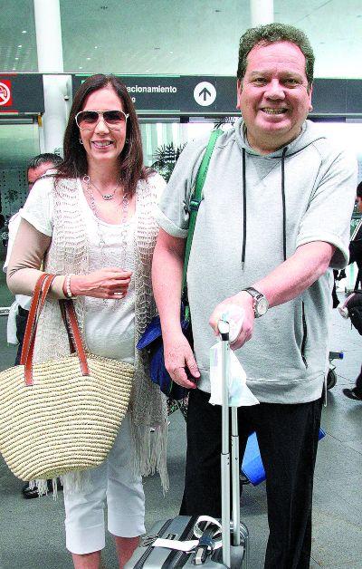 Coque y Mina Muñoz. Foto: José Luis Ramos