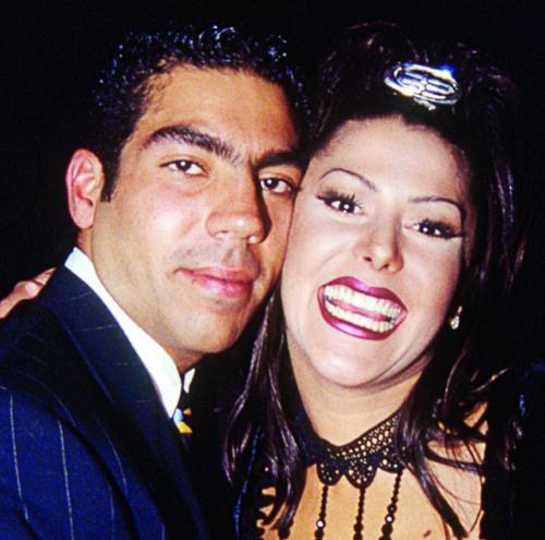 Pablo Moctezuma y Alejandra Guzmán. Foto: Archivo
