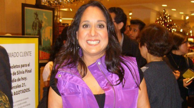 Gloria Izaguirre. Foto: Archivo