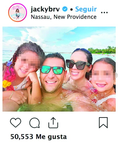 Familia Jacky Bracamontes. Foto: Instagram