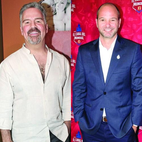 Ari Telch y Luis García. Fotos: Jaime Nogales y Javier Arellano.