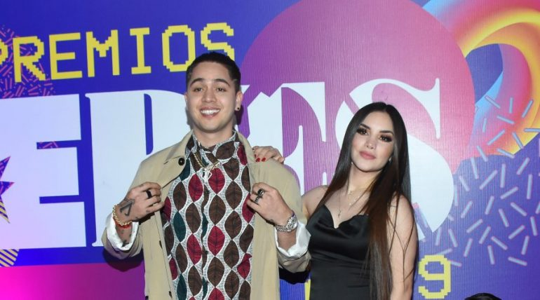 Juan de Dios Pantoja y Kimberly Loaiza   Foto: Getty Images