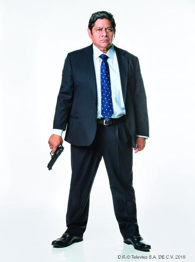 UN POLICÍA CORRUPTO. Horacio Escamilla (Fermín Martínez) no descansará hasta eliminar a Manu; estará dispuesto a ensuciarse las manos para quitar a cualquiera que se le interponga. Foto: Cortesía