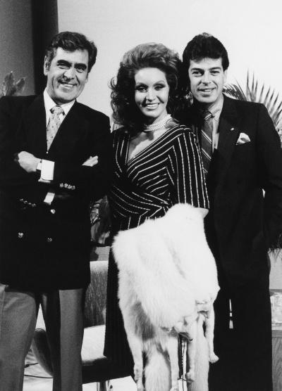 Eric Del Castillo, Sonia Infante y Sergio Goyri. Foto: Archivo
