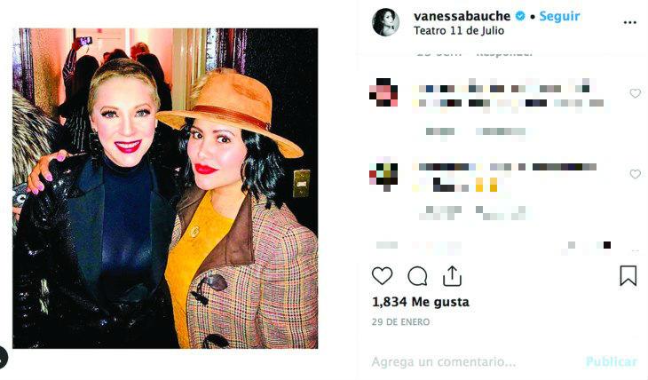 Vanessa Bauche. Foto: Instagram Vanessa Bauche