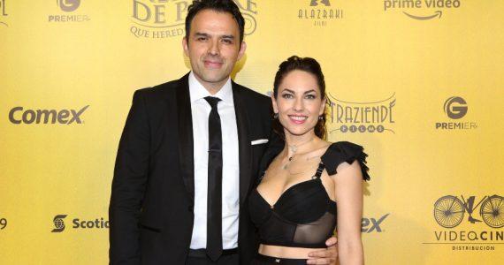 Bárbara Mori, Fernando Rovzar. Foto: Getty Images