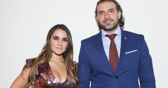 Dulce María, Francisco Álvarez. Foto: Getty Images
