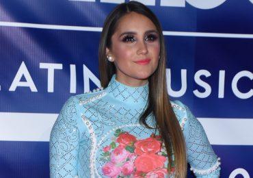 Dulce María reveló sus antojos de embarazada. Foto: Getty Images