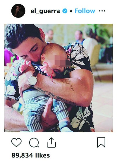 Alberto Guerra. Foto: Instagram