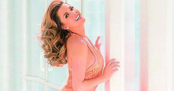 """Alicia Machado se muestra en topless """"poder vender"""". Foto: Archivo"""