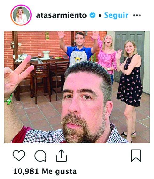 Atala y Rafa Sarmiento. Foto: Instagram
