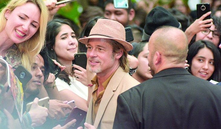 Brad Pitt. Foto: Jaime Nogales