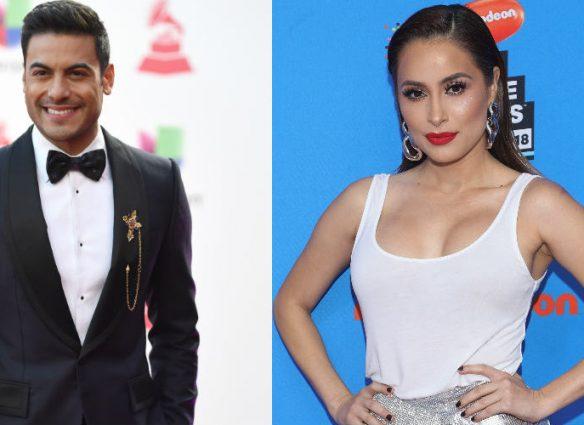 Carlos Rivera y Cynthia Rodríguez. Foto: Getty Images