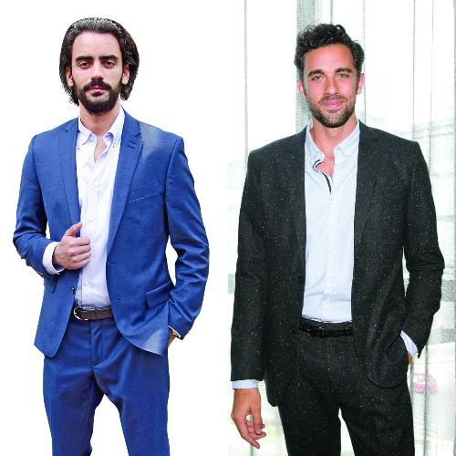 Diego Amozurrutia y José Pablo Minor. Foto: José Luis Ramos