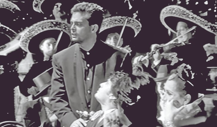 Luis Miguel y Juan Gabriel. Foto: Web