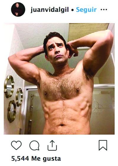 Juan Vidal. Foto: Instagram